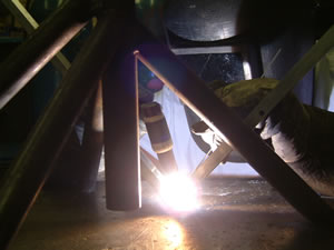 Sheet Metal Fabrication  - Circular Welding