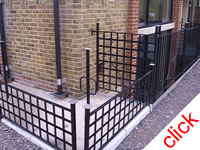 Office Railings - London: Stair & balcony railings for London office