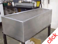 Shaped Stainless Steel Planter